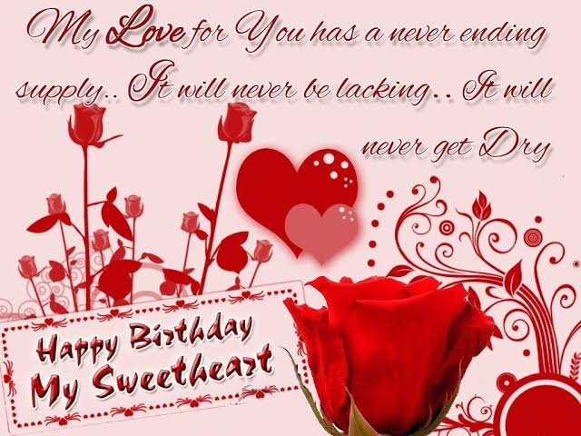 birthday sms in english for husband
