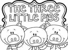 Small Picture Coloring Pages Animals Pig Coloring Pages Pig Coloring Page
