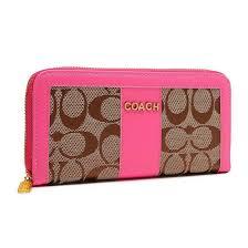 Buy Coach Legacy Accordion Zip Large Pink Wallets ETM And Enjoy Wonderful  Life.