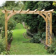 Small Picture Natural Garden Arch Design Wood Design Ideas Zonajco