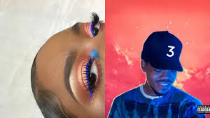 Chance The Rapper The Coloring Book Inspired Album Cover Makeup