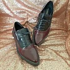 Zara Woman Size 39 Us8 Mens Wear Pointy Toe Loafer Oxford