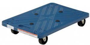 Warehouse Moving Dolly Flat Utility Cart Heavy Duty Portable