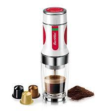 Portable Espresso Maker <b>Barsetto</b> Travel <b>Coffee</b> Maker <b>15 Bar</b> Hand ...