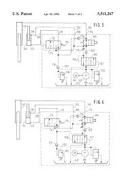 patent us5511267 dock leveler hydraulic circuit google patents patent drawing