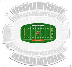 Ohio Stadium Seating Chart With Seat Numbers Cincinnati Bengals Seating Guide Paul Brown Stadium