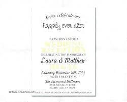 Wedding Invitations For Reception Only Reception Wording Wedding
