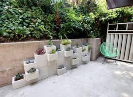 garden blocks. DIY With Cinder Blocks Garden C