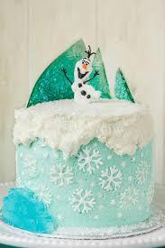 Frozen Theme Cake The Cookie Writer