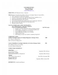 Machinist Resume Cnc Machinist Resume Templates Sampl Systematic Captures Likewise 6