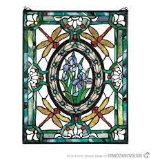 stained glass window panels ed treatments