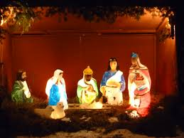 diy outdoor light manger scene afshowcaseprop piece nativity