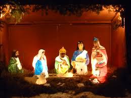 diy outdoor light manger scene afshowcaseprop piece nativity
