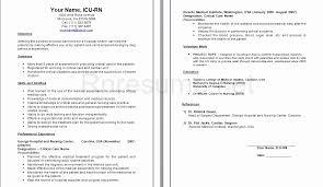 Critical Care Transport Nurse Sample Resume Extraordinary Nicu Rn Resume Sample Fresh Rn Resume Sample For Study Registered