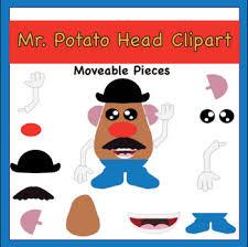 Potato head toy story mrs. Mr Potato Head Clipart By Taco Bout It Speech Fun Tpt