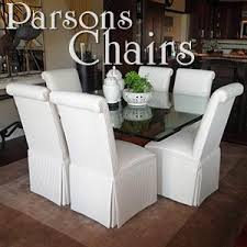 custom parsons chairs and dining room chairs that reflect your personality and style