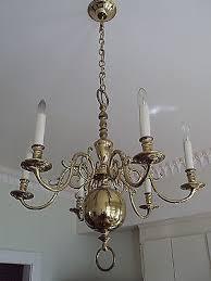 virginia metalcrafters flemish 6 arm unlaq p brass chandelier col williamsburg