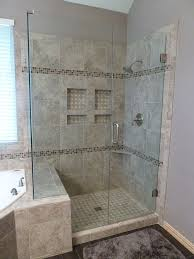 remodel bathroom showers. (Shower Stall) LOVE This.look A The Gained Space By Going Over To Tub Side Just Little.Shower Remodel - Even Floor Is Tile Garland, Texas. Bathroom Showers