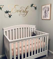 wall nursery decor baby girl