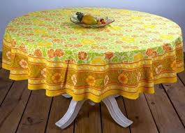 round table cover cloth for six seater 7