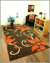 burnt orange rug. Brown And Burnt Orange Rugs Area Outstanding Rug .