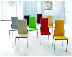 dining rooms cool coloured leather dining chairs uk senn