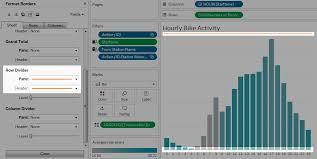 Tableau Bar Chart Border Format At The Worksheet Level Tableau