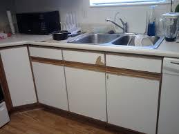 Laminating Kitchen Cabinets Painting Laminate Kitchen Cabinets The Kitchen Remodel