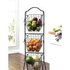 three tier wire basket 2 tiered stand for bathroom organization two 3 storage b