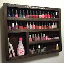 diy wood nail polish rack free plans