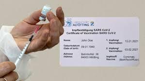 Digitaler impfpass soll reisen erleichtern. Kommentar Der Digitale Impfpass Ist Nicht Das Ticket In Die Normalitat