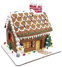 Premade Gingerbread Houses Gingerbread House Making Kit For Gluten Free Building Bliss