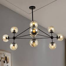 warehouse of tiffany enthen 10 light orb chandelier
