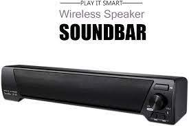 Fash Lady Soundbar LP-09 3.5mm AUX Bluetooth Home Theater Wireless  Subwoofer Speaker: Amazon.co.uk: Kitchen & Home