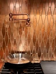 Not Just Kitchen Stunning Copper Backsplash For Modern Kitchens Beautiful Copper