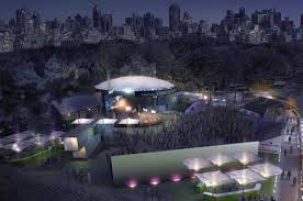 Summerstage Seating Chart Summerstages Central Park Venue To Get Extensive Renovation