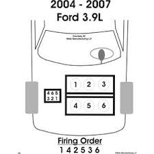 ford star 3 9 firing order fixya what is the firing order for a 2004 ford star van