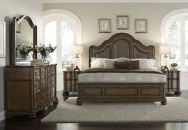 Pulaski Bedroom Furniture Quentin Chestnut Brown Bedroom Set By Pulaski Furniture Home