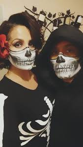 half skull face my favorite face paint makeup is fx diamond you can it on amazon