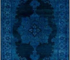 modern blue rug decoration bright best rugs images on area for of green and new batik bright blue rugs