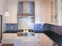 kitchen : Wonderful Subway Tile Backsplash Kitchen Pictures With White  Lacquered Wood Kitchen Cabinet Also Blue Tile Pattern Kitchen Backsplash  And Black ...