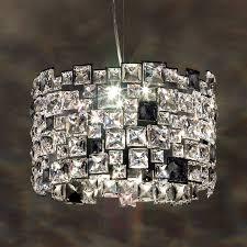 hanging light mosaix with swarovski crystals 8578097 01