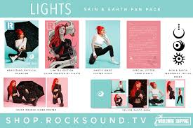 Lights Rock Cover Welcome Lights To The Cover Of Rock Sound News Rock