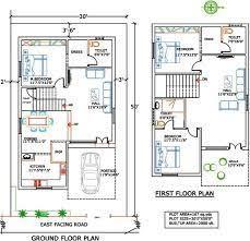 precious 11 duplex house plans for 30x50 site east facing north