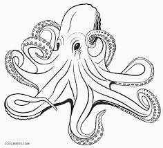 Small Picture Printable Octopus Coloring Page For Kids Cool2bKids