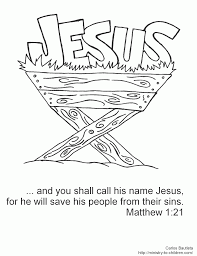 Christmas Sunday School Bible Coloring Pages Coloring Pages For