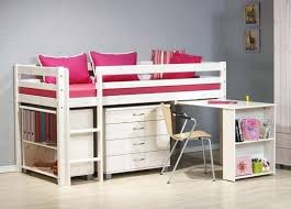 Kids Beds With Storage Quick View A Girls Storage Bed With Desk By ...