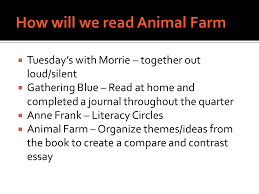 essential question explain how animal farm is an allegory  3  tuesday s