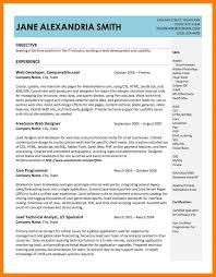9 Resume Samples Doc Letter Setup