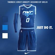 Okc New Jersey Design S Latest Basketball Jersey Uniform